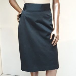 NWOT Banana Republic Black Pencil Skirt